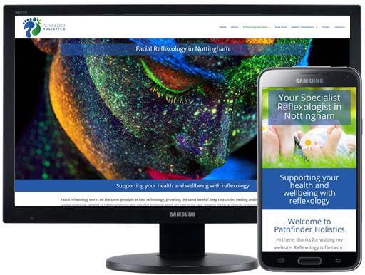 Web design for beauticians Hertfordshire