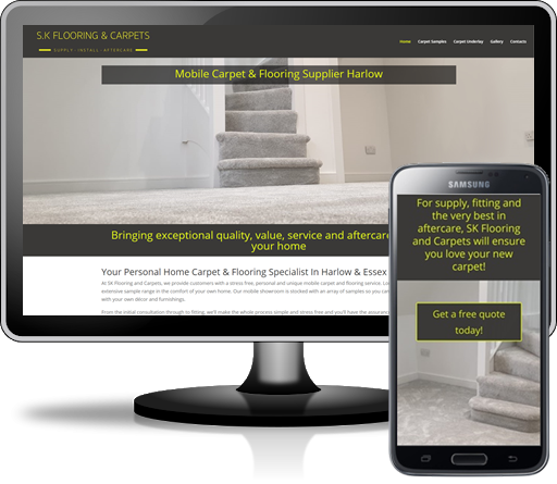 Websites for flooring companies in Hertfordshire